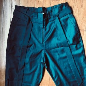 Shop the look! Teal colored boho chic pants